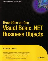 Expert One-on-One VB.NET Business Objects